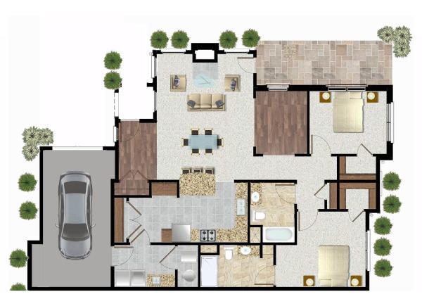 UCH-Parkvue-Cottages-Duplex-Unit-Plans-A